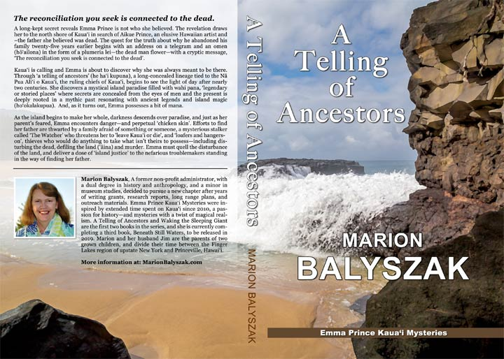 Author Marion Balyszak, Book Cover Design
